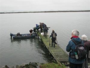 Met de boot naar de Kinseldam