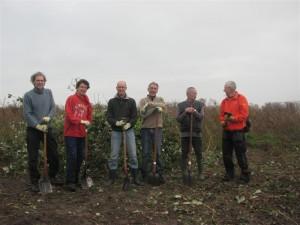 2013 werken op de Kinseldam