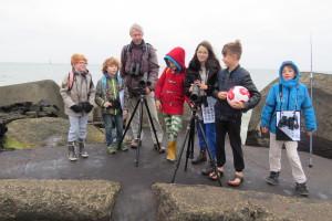 2. Jeugdvogelexcursie Zuidpier van IJmuiden 8 nov 2015 007